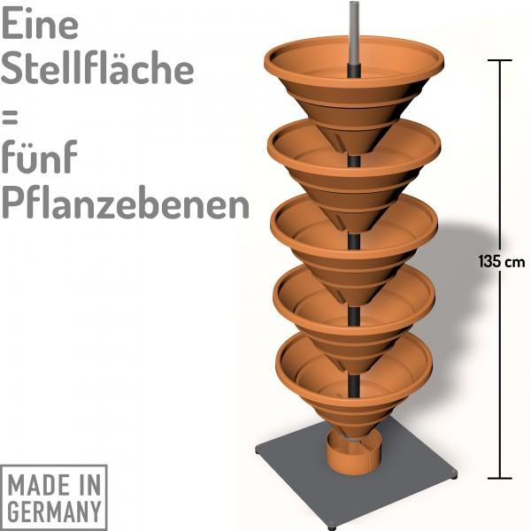 Vertical Garden XL terracotta