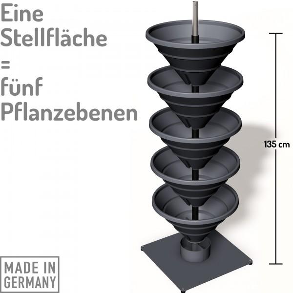 Vertical Garden XL schiefergrau